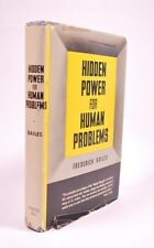 Hidden Power for Human Problems by Frederick W. Bailes (1957, Hardback)