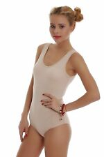 Cotton Women's Bodysuit Vest Bikini S M L XL 2XL 3XL TG1365 Leotard Lady Body EU