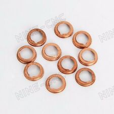 11026-01M02 Oil Drain Plug Crush Washer Gaskets 10PCS For NISSAN