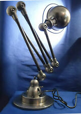 Jielde lámpara industrial francés 5 Armas Pulido Encerado protección Grafito