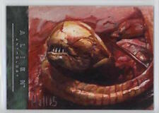 2016 UPPER DECK ALIEN ANTHOLOGY CHARLES HALL 1/1 SKETCH CARD OIL PAINTED WOW!!!!