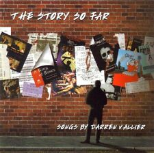 DARREN VALLIER - THE STORY SO FAR - CD (2002) THEIR SCARVES WERE RED ETC