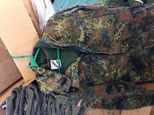 "German Army FLECKTARN Parka, size XXL 185/195cm (6.2""/6.5"") heigth"