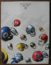 THE NFL and YOU 1986-1987 (Super Bowl Rings pictured inside), Joe Montana, etc.