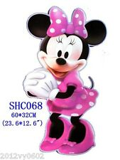 Nouveau Disney Minnie Mouse Clubhouse C Wall Sticker grandes 60 x 32cm