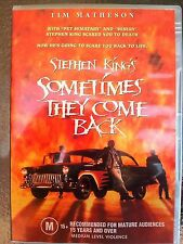 Sometimes They Come Back - Region 2 Compatible DVD (UK seller!!!)Brooke NEW