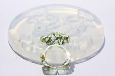 Clear-silicone Bear Ring mold. Size 6,7,8,9. Free USA Shipping.(2-40)
