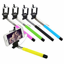 3er Set Selfie Stick Teleskop Stange Handy Smartphone iPhone iOS Android Stativ