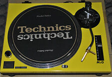 Technics Face Plate For SL1210M5G Yellow Turntable Faceplate