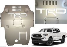 Super White Premium Vinyl TRD Skid Plate Inserts For 2016-2017 Toyota Tacoma New