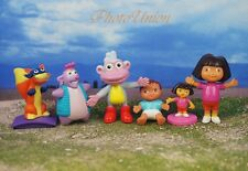DORA THE EXPLORER & Friends Set 6 Figure Model Cake Topper Decoration K364_Set6