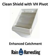 Rain Harvesting Leaf Beater with Clean Shield and VH Pivot 90mm/100mm