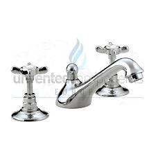 Bristan n 3hbas C Cd 1901 de 3 hoyos de lavabo con pop-up de residuos de cromo