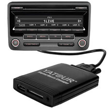 Adaptador aux Interface 12pin audi a4 s4 b7 + Cabriolet USB & tarjeta SD adaptador DMC mp3