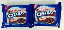 2X Packs Oreo Red Velvet With Cream Cheese Flavor Cookies 12.2oz, X-12/16