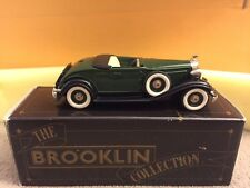 Brooklin Collection 1/43 BRK6A - 1932 Packard Light 8 Convertible Coupe Green