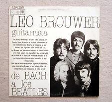 LP / LEO BROUWER / BEATLES / TOP RARITÄT / CUBA 1981 / RAR /
