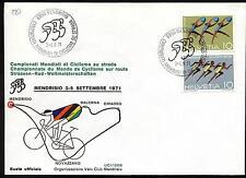 Svizzera - 1971 - Mondiali di Ciclsimo su strada - Busta FDC
