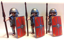 PLAYMOBIL ROMAN SOLDIERS - SET OF THREE NEW IN BAG