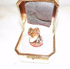 JUICY COUTURE LIMITED EDITION 2008 JUICY CLASS RING CHARM WITH BOX