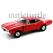 Welly 24024 1968 Oldsmobile 422 1:24 Diecast Model Car Red