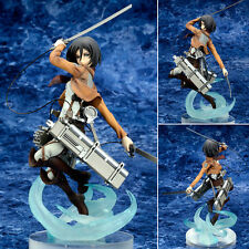 New Ques Q Attack on Titan Shingeki no Kyojin Mikasa Ackerman Figurine Figure