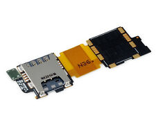GENUINE Samsung Galaxy S5 i9600 Sim Card & SD Memory Card Reader Flex ORIGINAL