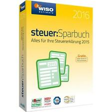 WISO steuer:Sparbuch 2016 (Steuerjahr 2015) DOWNLOAD VERSION
