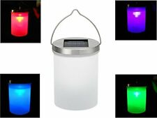 DE-Spark Color Changing LED Solar Hanging Light Garden Nightlight Lamp, with a P
