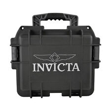 Invicta Collectors Three Slot Watch Box in Black DC3BLK