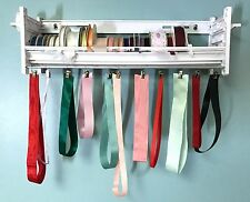 Ribbon Holder Organizer 1-shelf w/Bar & Clips to clip it up loose ribbons  MRHB1