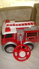 Kid Galaxy RC Fire Truck Large Soft Red Plastic w/remote Works!