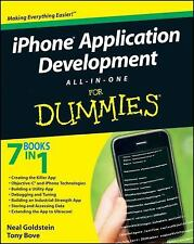 i Phone Application Development All-In-One For Dummies Book How to Apps