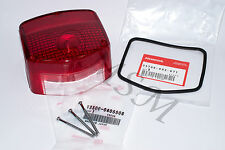 HONDA NEW TAILLIGHT TAIL LIGHT LENS w/ OEM GASKET & SCREWS 04-502G