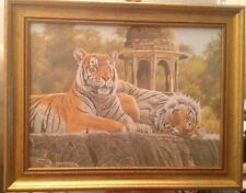"Stephen Gayford Special Edition Canvas ""Temple Tigers"" 795/1050"
