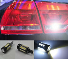 2x White Error Free LED Reverse Back up Light Bulb For vw Passat B7 2010-2015