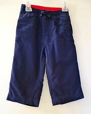 NWT Gymboree Little Fireman Navy Lined Pants ~ Boy's Size 18-24M