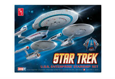 STAR TREK ENTERPRISE 3 Pack 1701, 1701 refit & 1701 B 1/2500 SCALE model kit