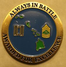 407th Military Intelligence Company Army Challenge Coin