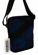 Borsa tracolla bag BIKKEMBERGS a. 6BD4203DD REPORTER c. D46 GEOMETRIC CAMO BLUE
