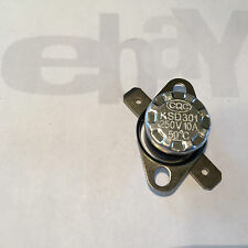 THERMAL OVERLOAD SWITCH AC 125V 16A 250V 10A THERMOSTAT NC 50 °C 122 °F