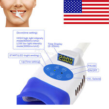 Dental Chair Teeth Whitening Machine Cold LED Light Lamp Bleaching Accelerator