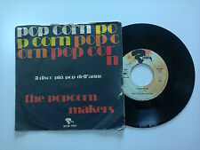 "The Popcorn Makers / Popcorn -Disco Vinile 45 Giri 7"" Stampa Italia1972"