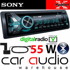 SONY mex-n6001bd 55 X 4 Watt DAB Radio Bluetooth CD MP3 USB STEREO AUTO & Aerial
