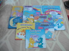 MIXED LOT 11 CARE BEARS~BOARD~HC~COLORING BOOK~BEDTIME POEMS~STORYBOOK TREASURY