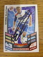 2012/2013 Autograph: Reading - Gunter, Chris [Hand Signed 'Topps Mat