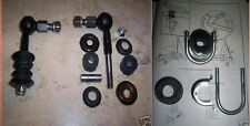TRIUMPH TR4a TR250 TR5 TR6  ANTI ROLL BAR LINKS/ BUSHES/ CLAMPS MOUNTING KIT