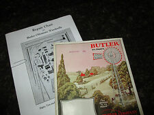 Butler Oilomatic Windmill Parts List & Diagrams