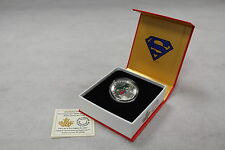 2014 Royal Canadian Mint - $10 Silver Coin: Superman - Action Comics #1 (1938)