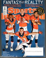 2013 Sports Illustrated Denver Broncos Manning & Welker Subscription Issue NR/M